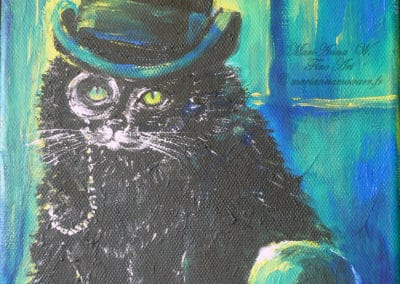Little Gentleman, acrylic on canvas by © MariAnna MO Warr